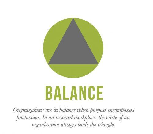 Figure 2. A Balanced Organization